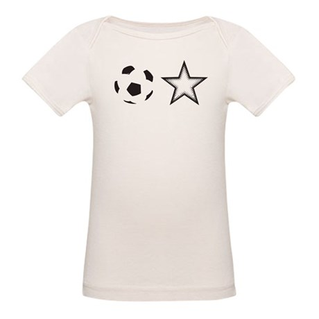 Soccer Star Organic Baby T-Shirt