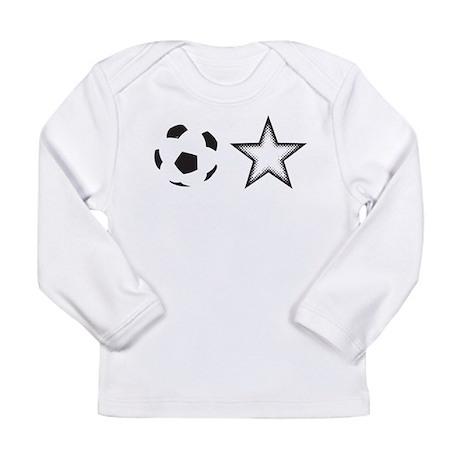 Soccer Star Long Sleeve Infant T-Shirt