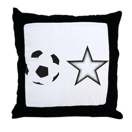 Soccer Star Throw Pillow