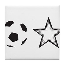 Soccer Star Tile Coaster