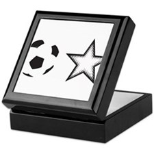 Soccer Star Keepsake Box