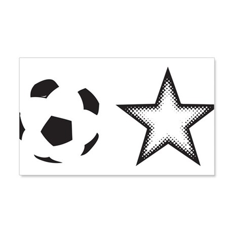 Soccer Star 20x12 Wall Decal
