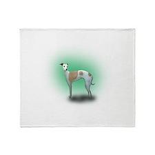 Spotted Greyhound Throw Blanket