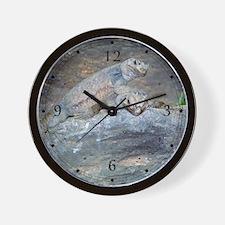 Chuckwalla Head Stand Wall Clock