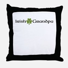 Irish Grandpa Throw Pillow