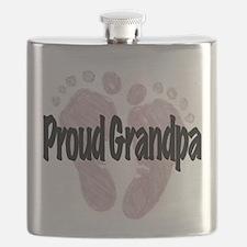 Proud Grandpa (Girl) Flask