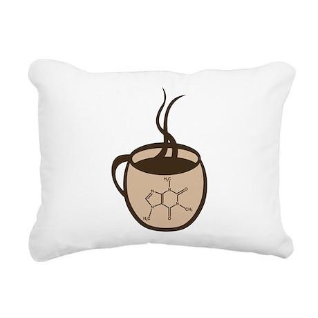 Caffeine Cup Rectangular Canvas Pillow