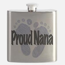 Proud Nana (Boy) Flask