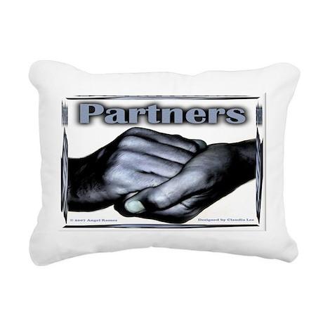 Partners-Triumph of the Spirit Rectangular Canvas