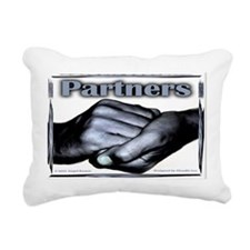 Partners-Triumph of the Spirit Rectangular Canvas