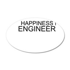 Happiness Is Engineering Wall Decal
