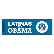Latinas for Obama Stickers