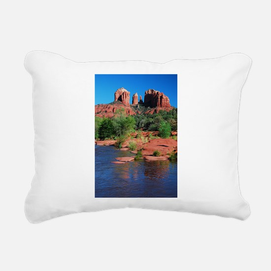 Cathedral Rock, Sedona Rectangular Canvas Pillow