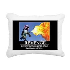 Revenge Rectangular Canvas Pillow