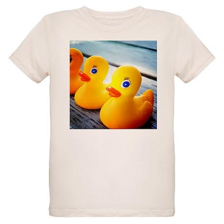 Rubber Ducky Organic Kids T-Shirt