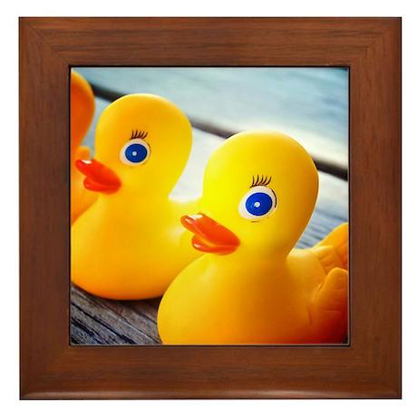 Rubber Ducky Framed Tile