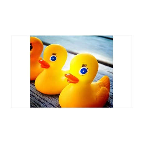 Rubber Ducky 35x21 Wall Decal
