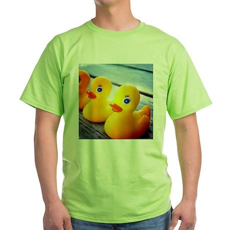 Rubber Ducky Green T-Shirt