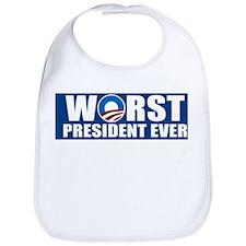 Worst President Ever Bib
