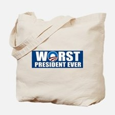 Worst President Ever Tote Bag