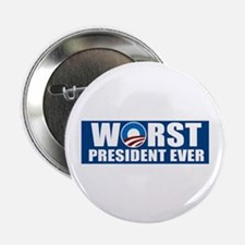 "Worst President Ever 2.25"" Button"