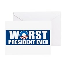 Worst President Ever Greeting Cards (Pk of 20)