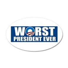 Worst President Ever Wall Decal