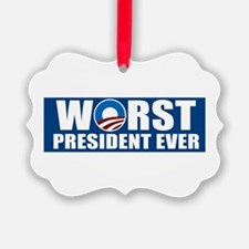 Worst President Ever Ornament