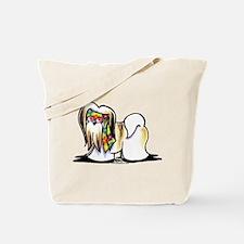 Lhasa Apso Hippie Tote Bag