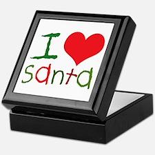 Kids I Love Santa Keepsake Box