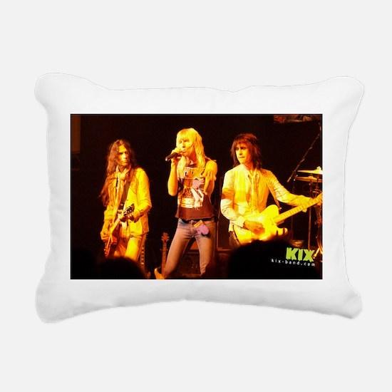 KIX Rectangular Canvas Pillow