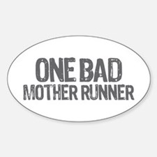 one bad mother runner Decal