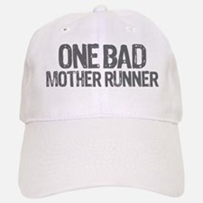 one bad mother runner Baseball Baseball Cap