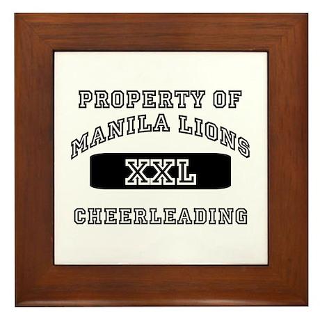 MPS Cheerleading Framed Tile