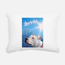 Funny Holiday pets Rectangular Canvas Pillow