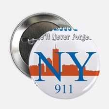 "OYOOS NY 911 Liberty design 2.25"" Button"