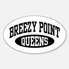 Breezy Point Queens Sticker (Oval)