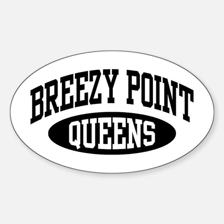 Breezy Point Queens Sticker (Oval)
