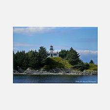 Ketchikan Light House Rectangle Magnet