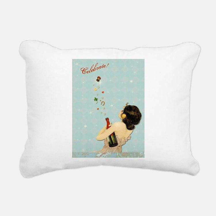 Celebrate Rectangular Canvas Pillow