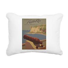 Discover Puerto Rico Rectangular Canvas Pillow