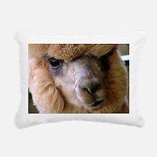 Alpaca Rectangular Canvas Pillow