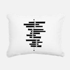 Big Apple Jazz Rectangular Canvas Pillow
