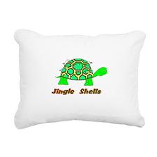 Cute Jingle bells Rectangular Canvas Pillow