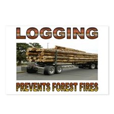 LOGGING Postcards (Package of 8)