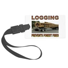 LOGGING Luggage Tag