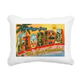 Retro florida Rectangle Canvas Pillows