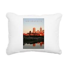 Indianapolis Rectangular Canvas Pillow