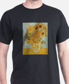 Van Gogh Sunflowers for Amy T-Shirt