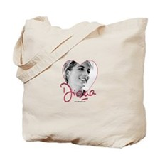 DianaPinkHeart Tote Bag